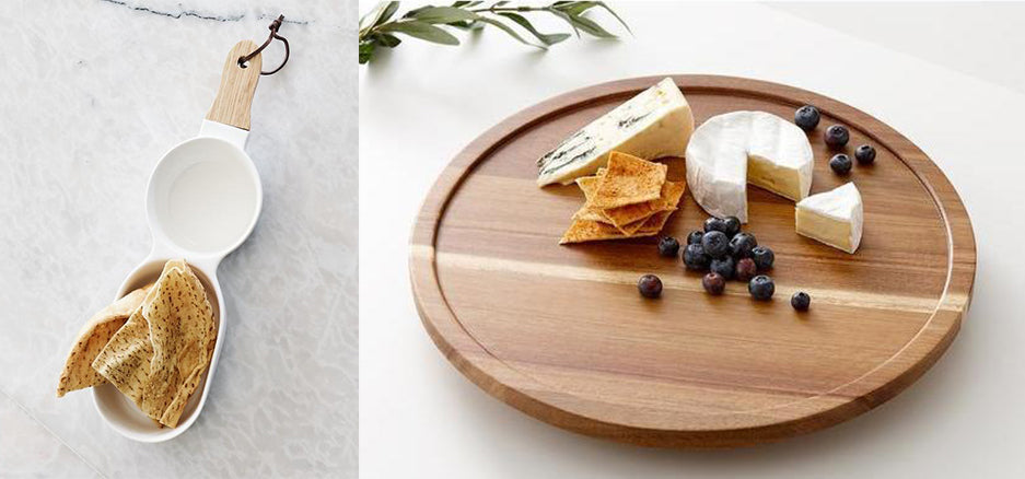 serving platter and cheese board ladelle