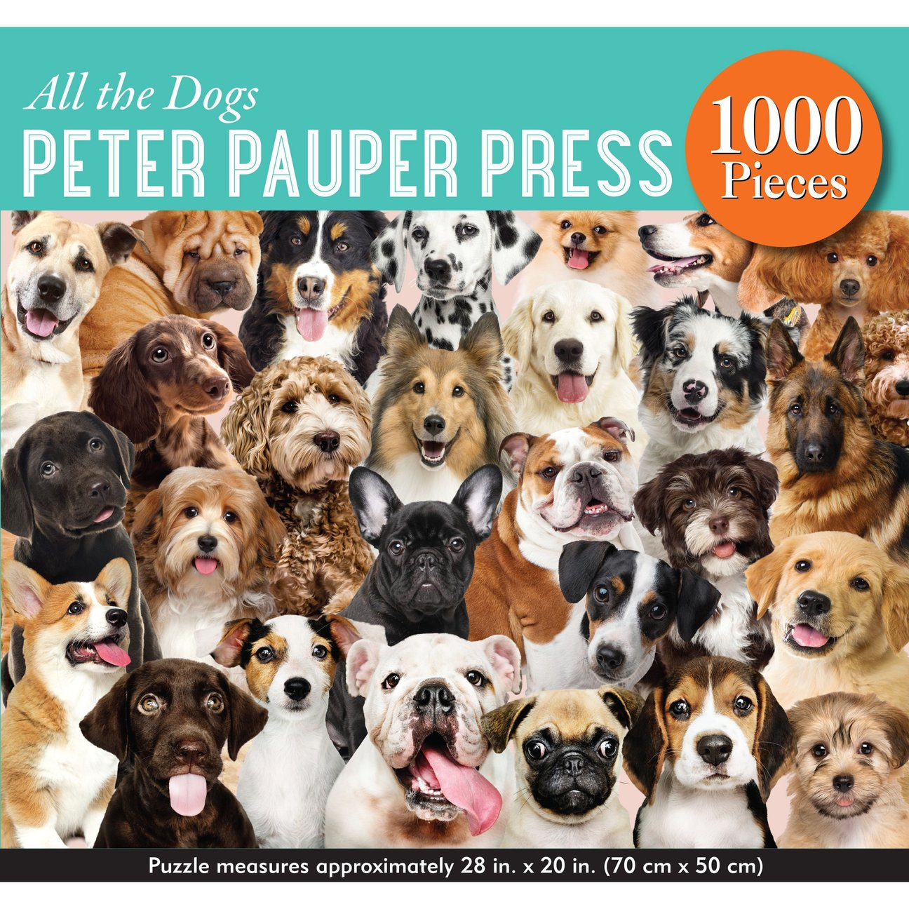 all the dogs Peter pauper press 1000pc