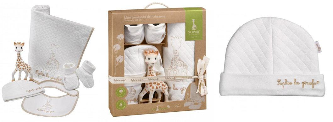 sophie the giraffe gift box so pure my birth outfit
