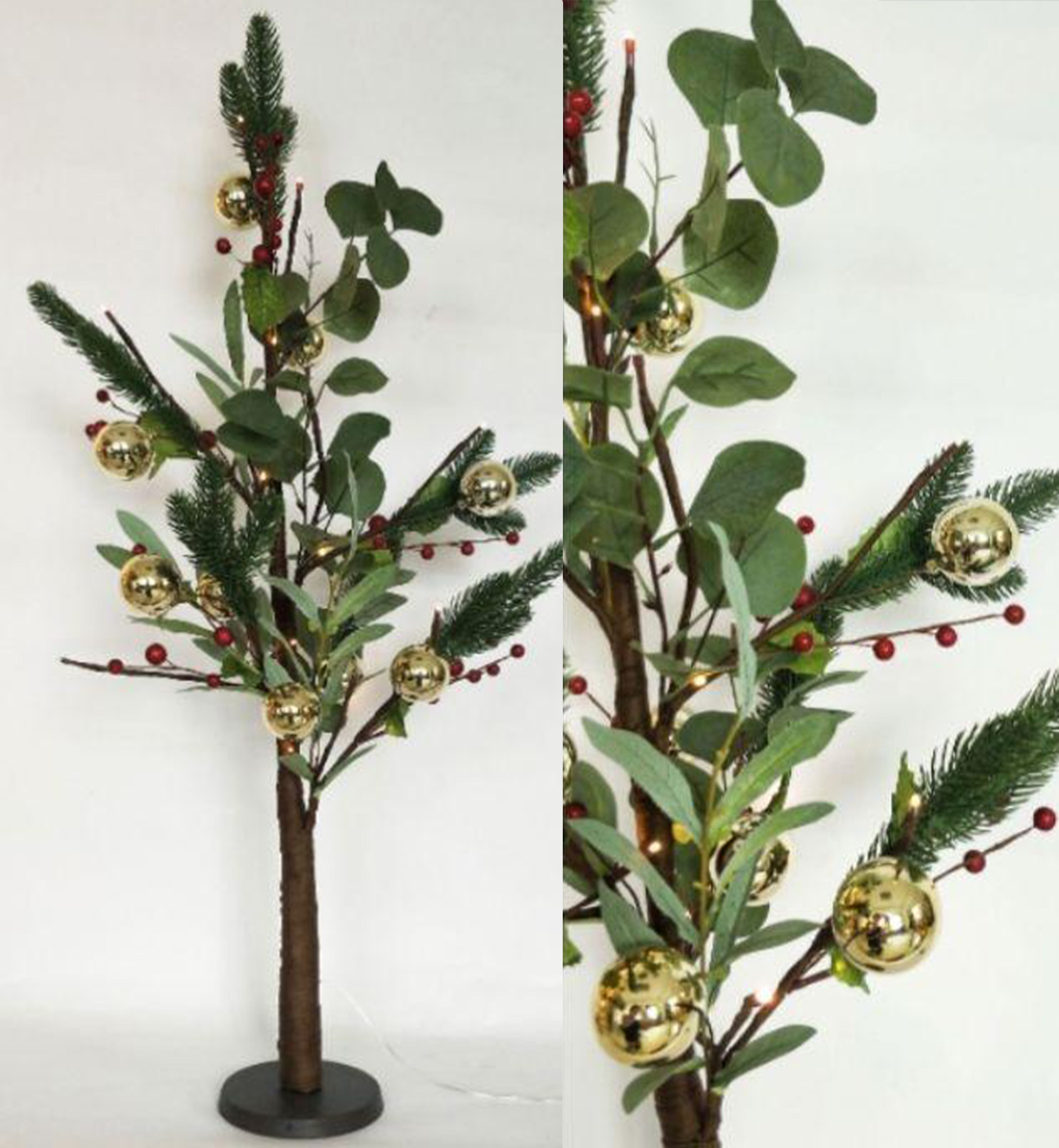 native red berry Christmas tree