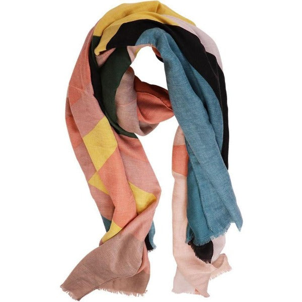 multicolored scarf for women