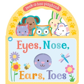 Eyes Nose Ears Toes Peekaboo book