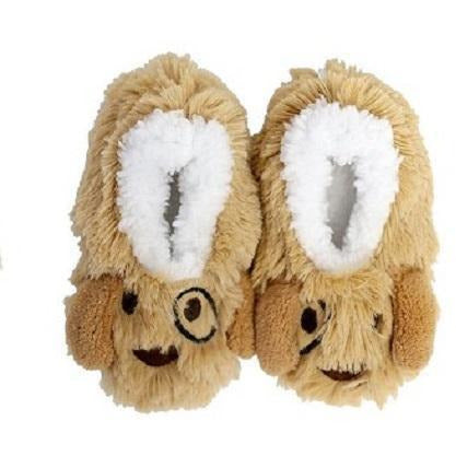Slumbies Puppy Baby Slippers Small