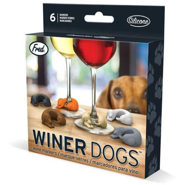 Winer Dogs dacshund wine markers