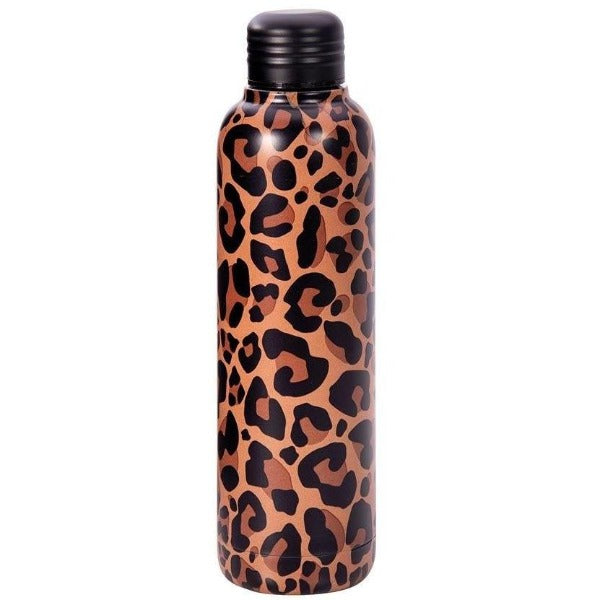 Leopard Print Bottle