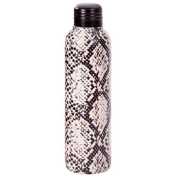 Snake Print Water Bottle
