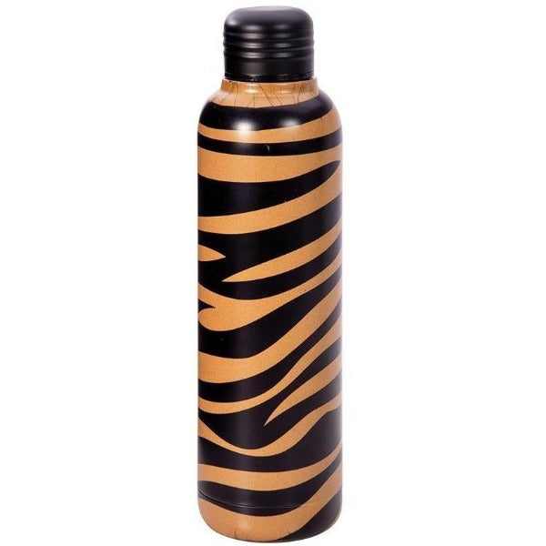 Tiger Print Water Bottle
