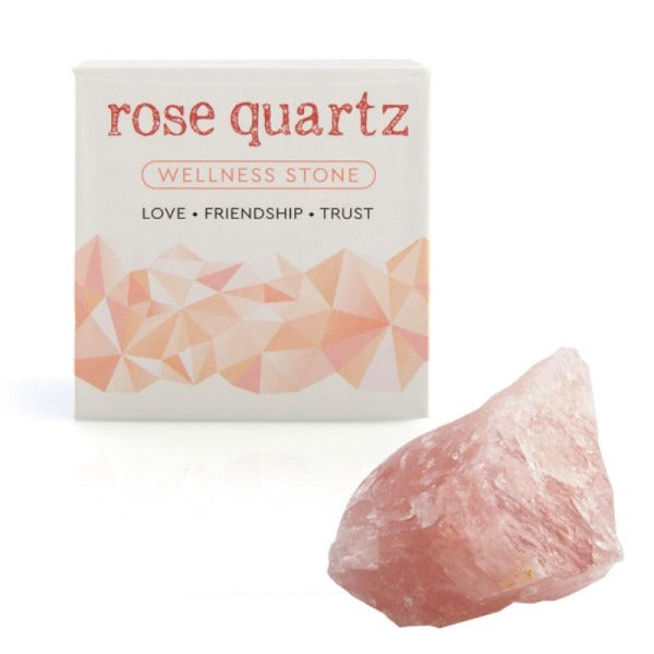 rose quartz in box