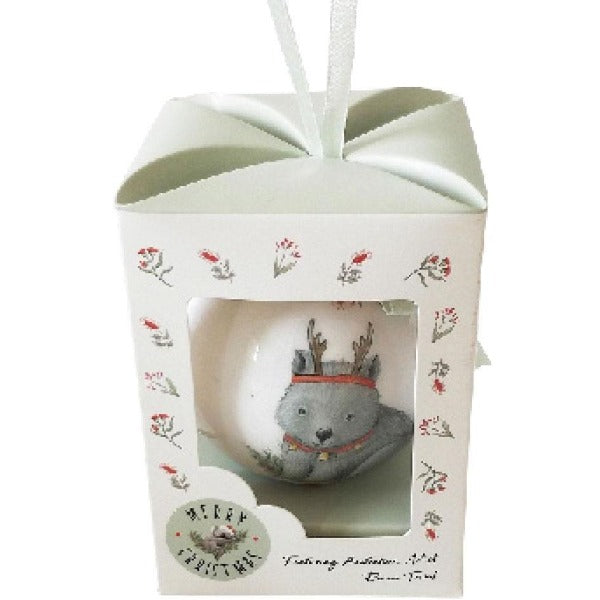 Wombat bauble gift box
