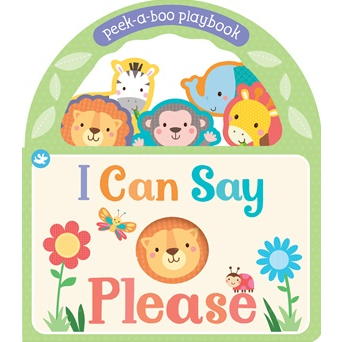 I Can Say Please Peekaboo book