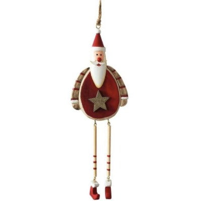Santa tree decoration