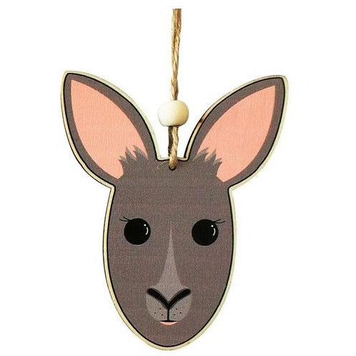 Kangaroo hanging decoration
