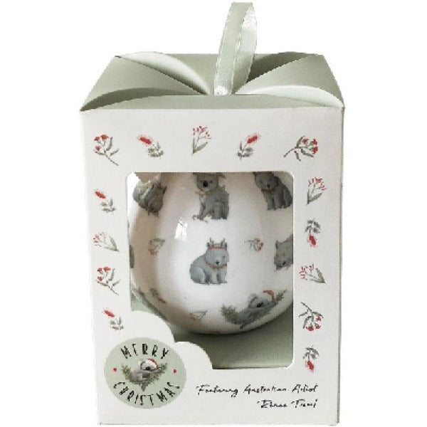 Australian animal bauble gift box