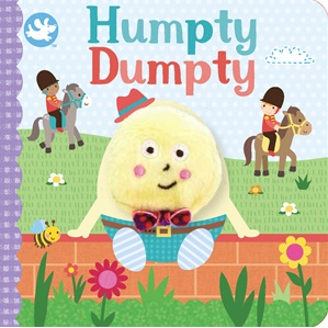 Humpty Dumpty Finger Puppet Book