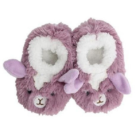 Slumbies Llama Baby Slippers Large
