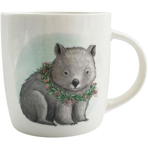 Renee Treml Sitting Wombat Mug