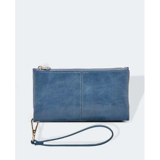 Elsie Dark Denim Wallet