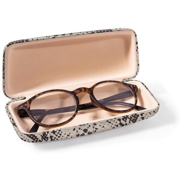 Snake Print Glasses Case