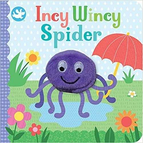 Incy Wincy Spider Finger Puppet Book