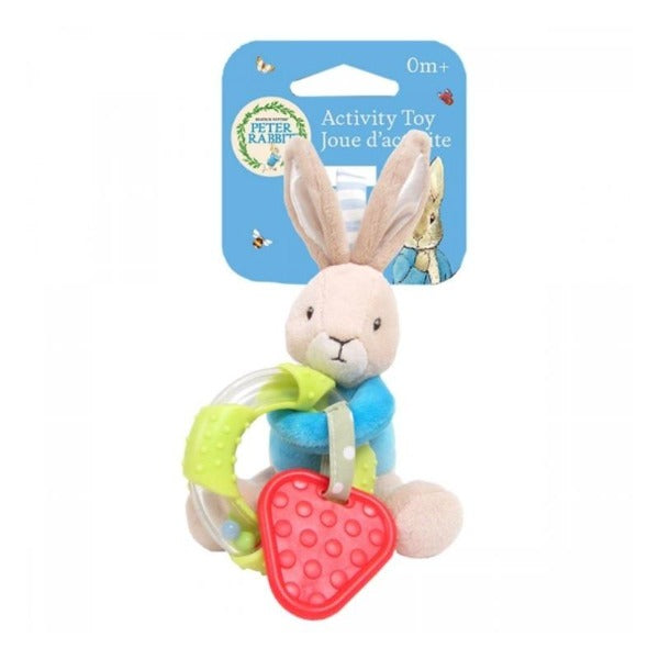 peter rabbit toy for pram teething