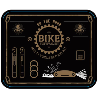 bike repair kit in tin