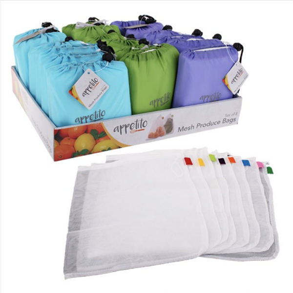 Donaldson mesh produce bag set of 8