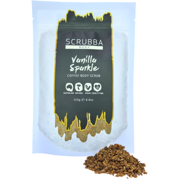 Scrubba Body Vanilla Sparkle Coffee Scrub 250g
