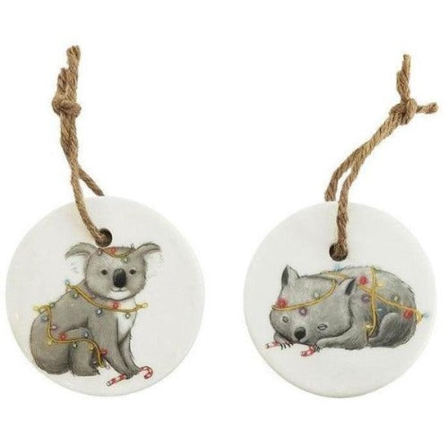 ceramic Australian animals decorations