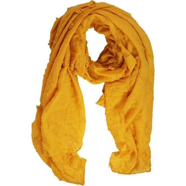 yellow scarf for women