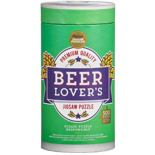 Beer Lover's 500 Piece Jigsaw Puzzle