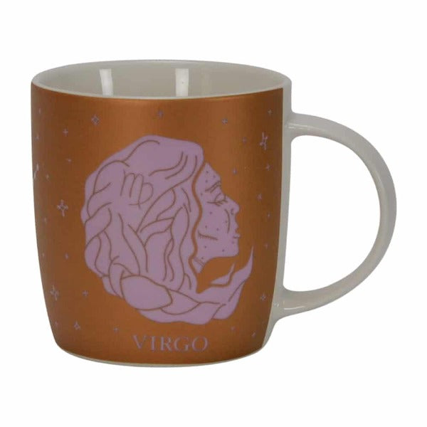brown and purple virgo zodiac mug for women annabel trends