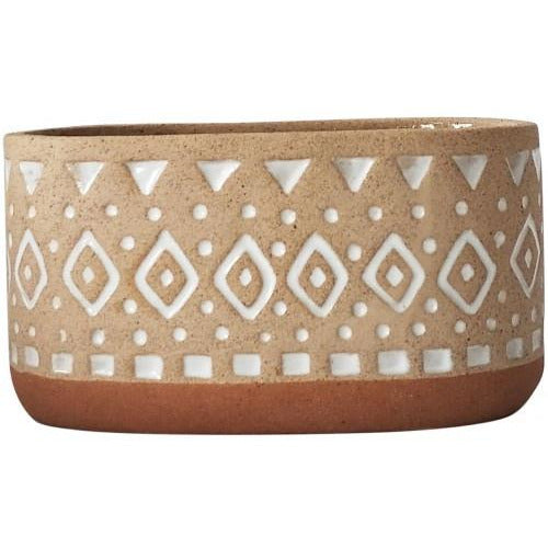 Zuri Planter Terracotta and Sand Medium