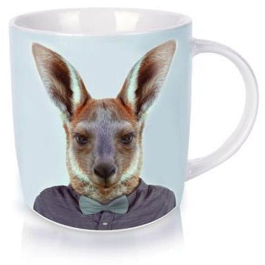 Kangaroo Portrait Coffee Mug
