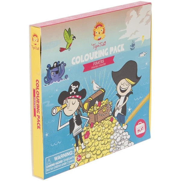 Pirate Colouring Pack