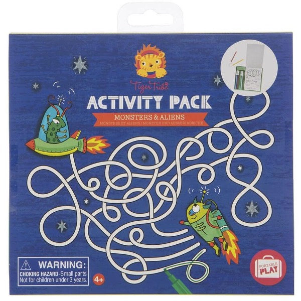 tiger tribe activity pack monsters aliens