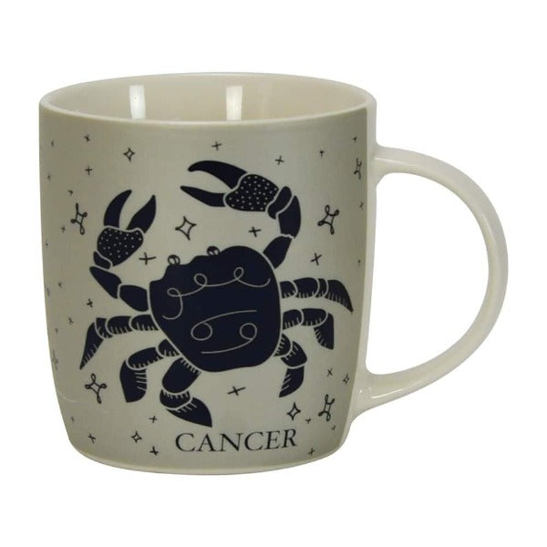 grey and navy cancer zodiac annabel trends mug for women and men