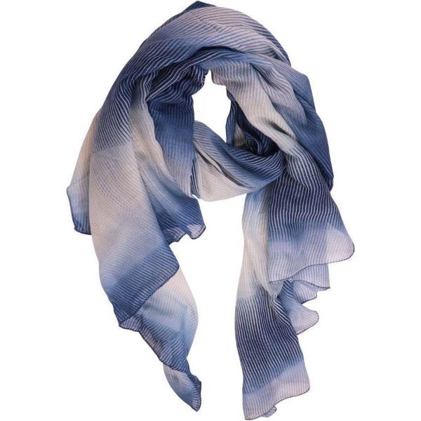 blue scarf for women