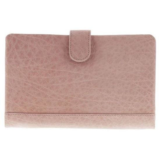 Blush Bifold Leather Wallet