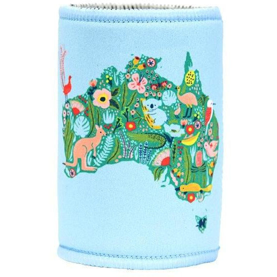 Flora and Fauna Australia Map Can Cooler Down