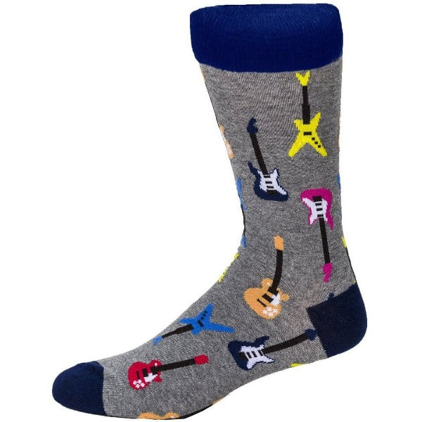 multicolour guitar socks