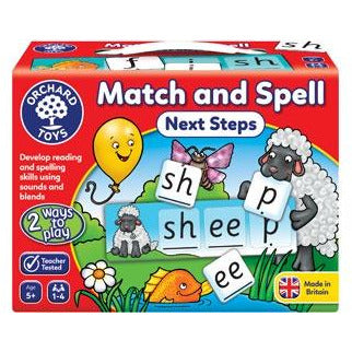 match and spell kids game