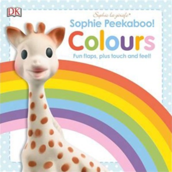Sophie The Giraffe Peekaboo Colours Book