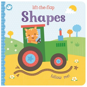 Lift the Flap Shapes Book