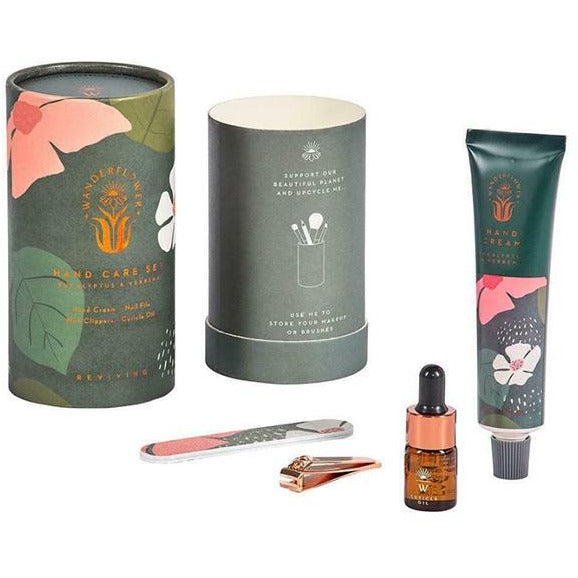 hand care set wanderflower hand cream gift set