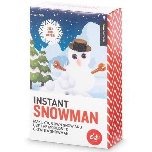 Instant snowman Christmas