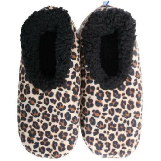 Slumbies Leopard Slippers Small