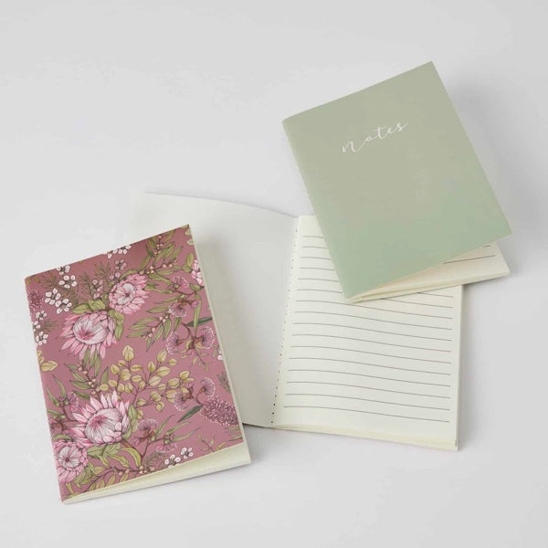 floral design pack of 3 notebooks for women
