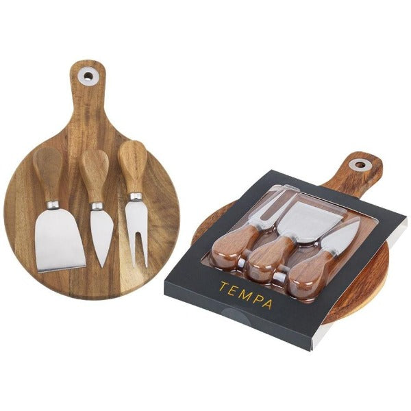 fromagerie cheese board knife 4pc set