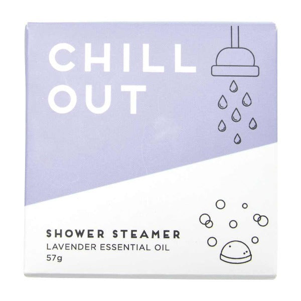 chill out shower steamer