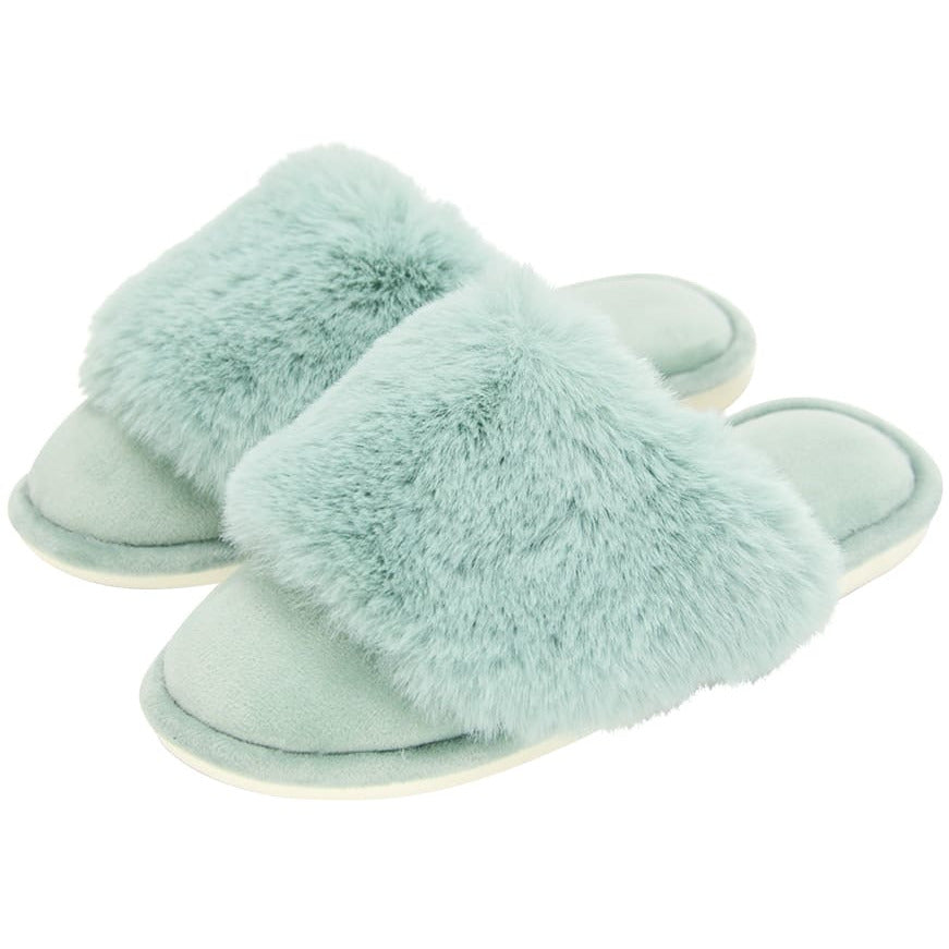 Sage Luxe Slippers